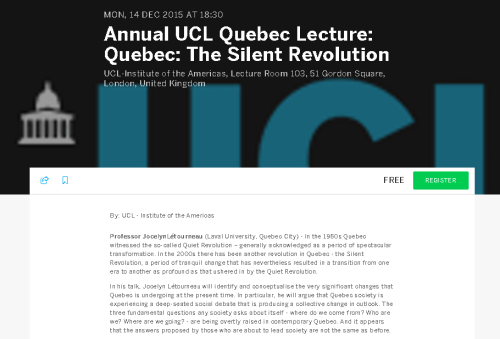 Quebec Silent Revolution