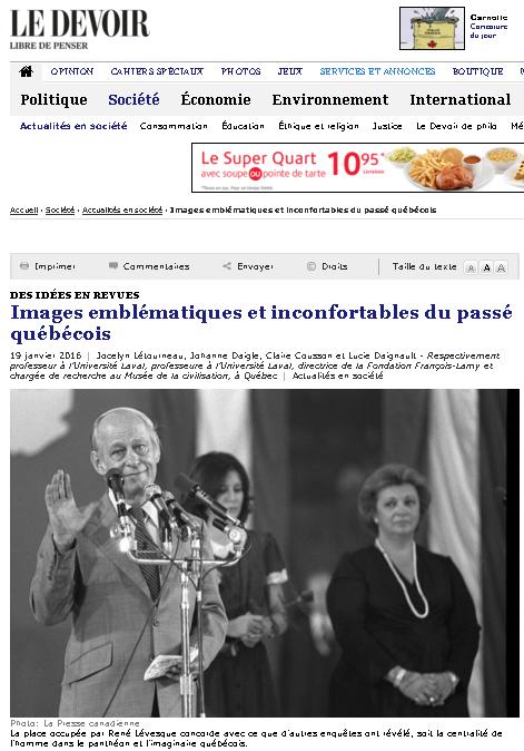 Jocelyn Létounreau Le devoir